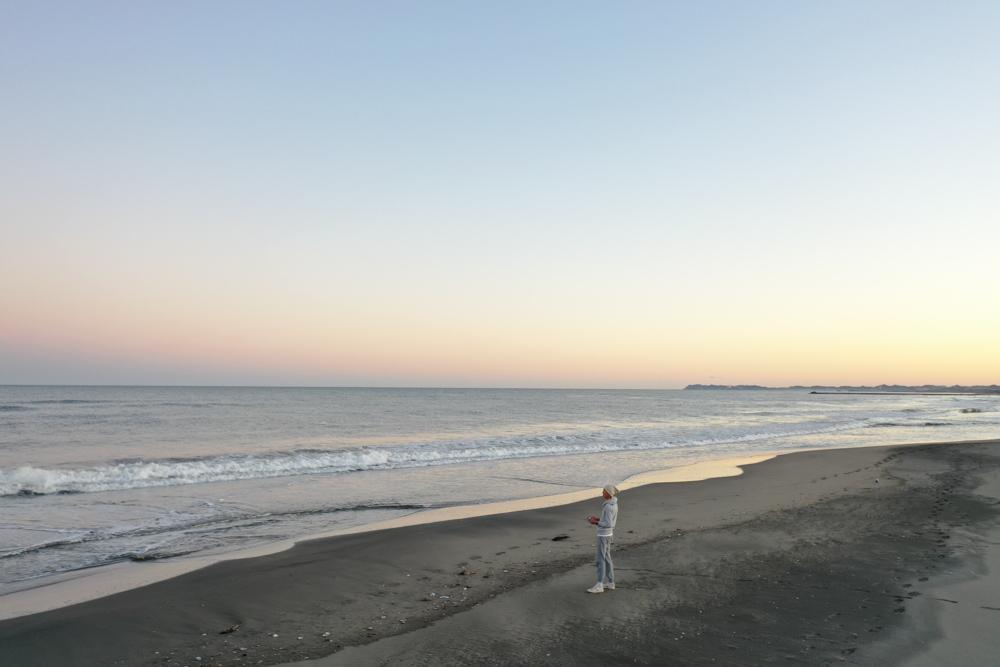 九十九里浜サンセット