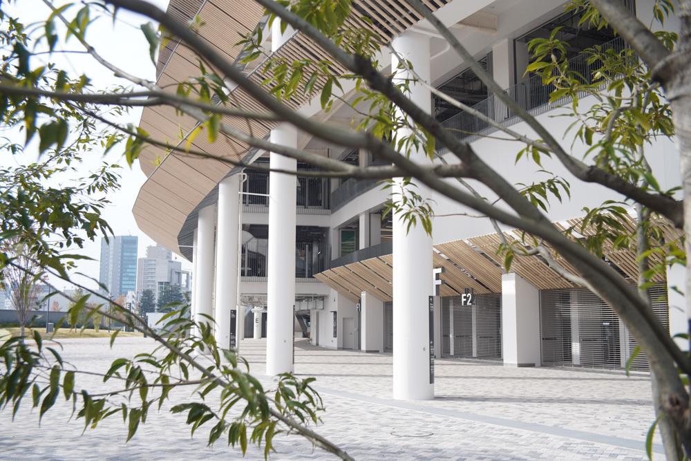 オリンピックスタジアム 新国立競技場