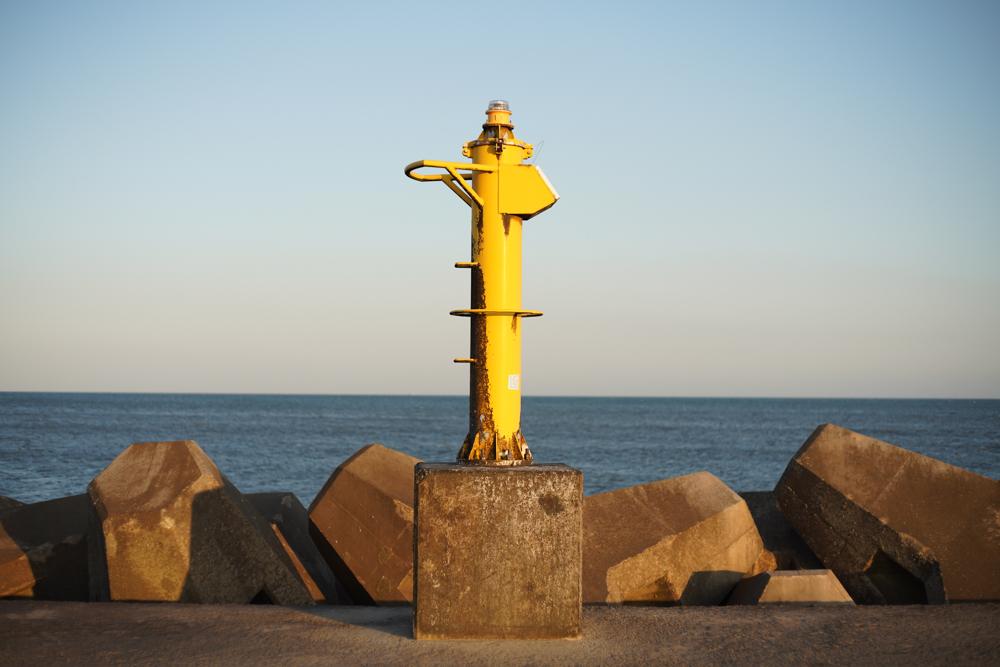 Carl Zeiss JENA DDR PANCOLAR electric 50mm f1.8 + Sony α7R III 一宮海岸のミニ灯台