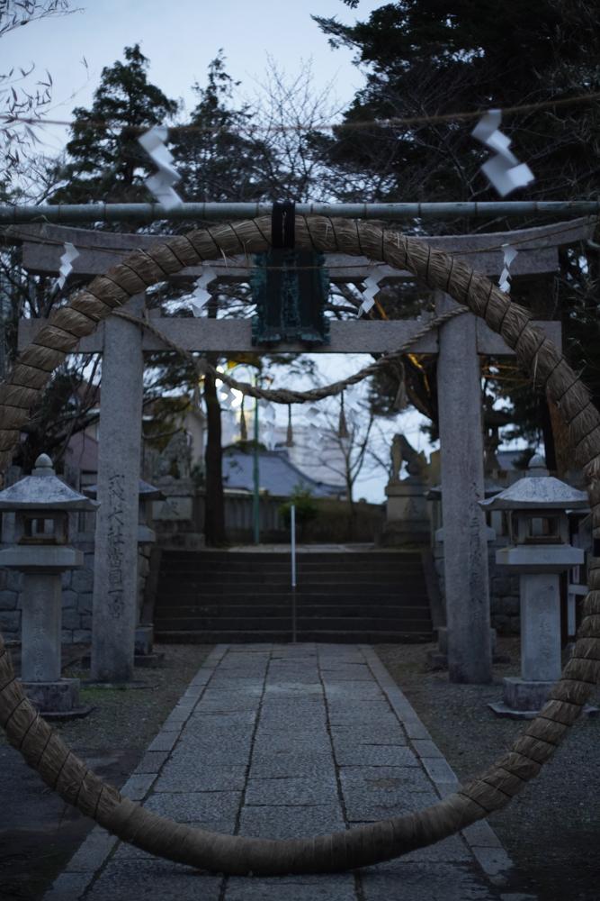 上総一宮 玉崎神社の芽の輪