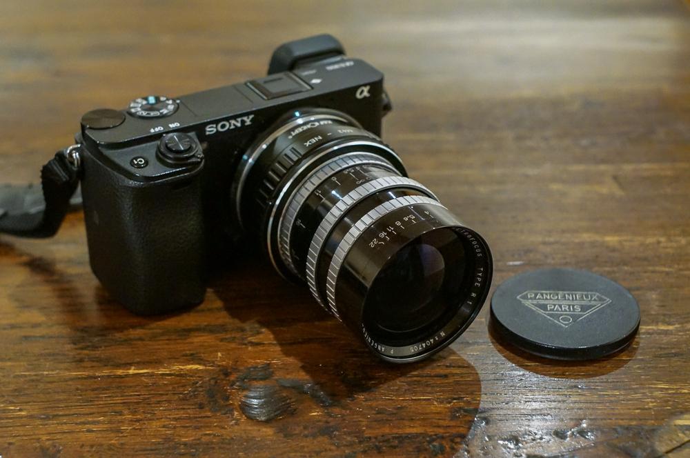 Angenieux 35mm F2.5 + Sony a6300