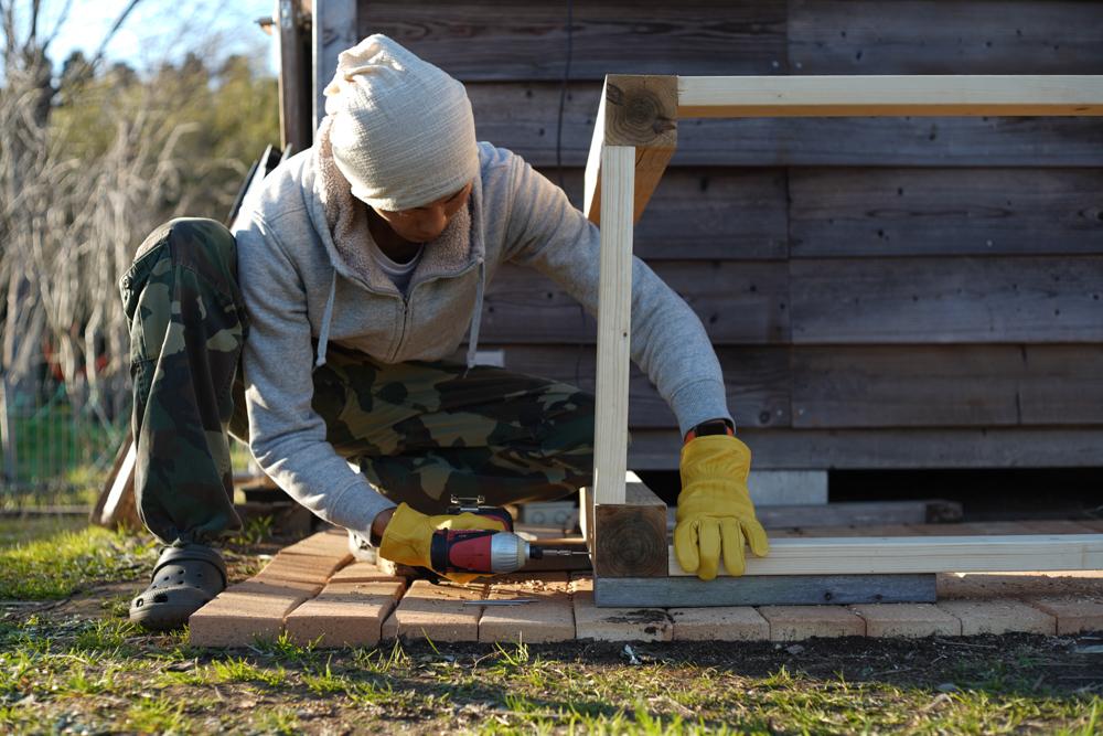 ガーデンシンクをDIYで作る