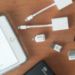 iPadで外部ドライブを読み込む iPad mini5+iPad OS+microSD/外付けHDDドライブ