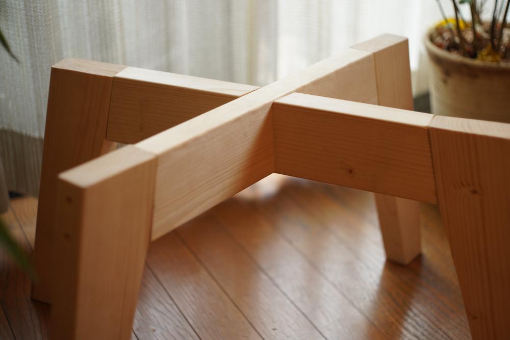 房総オルタナティブファニチャー 2x4材と杉板でスツールを作る