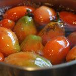 育てて 作って いただく 房総フィールド産 イタリアントマトでラタトゥイユを作る