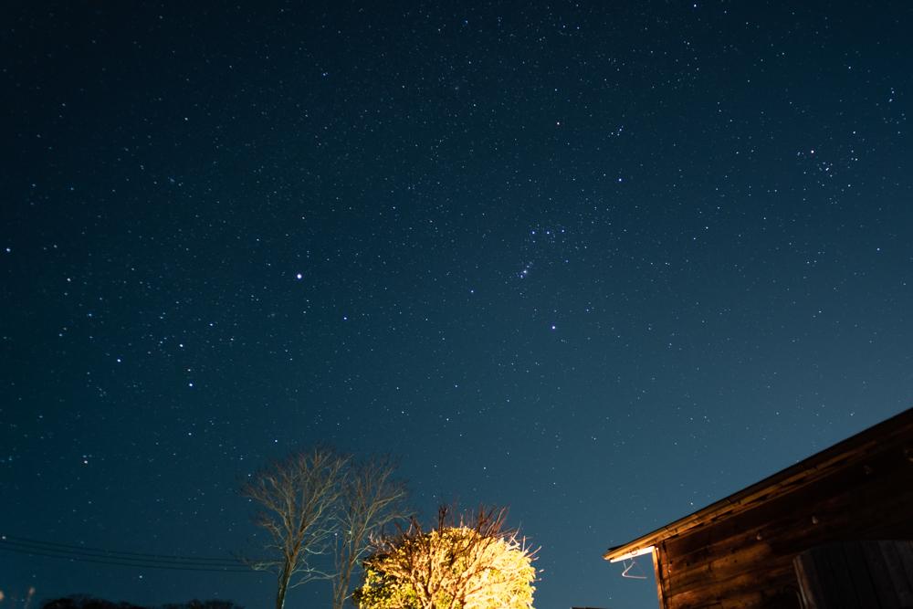 房総フィールド 冬の星座