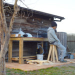 房総オルタナティブファニチャー ハイスツールを作る
