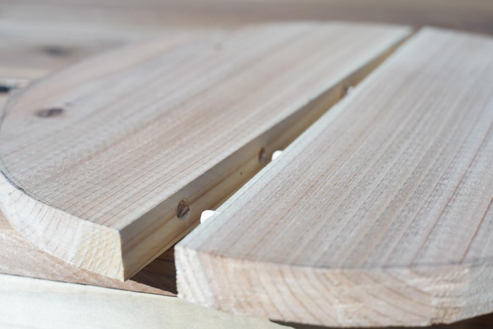 房総オルタナティブファニチャー ハイスツールを作る 座面のホゾ継ぎ