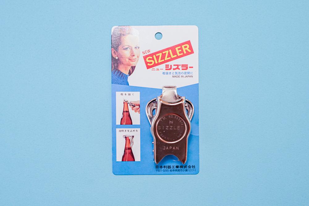 #66 SIZZLER シズラー 密栓&栓抜き 瓶ボトル密封キャップ