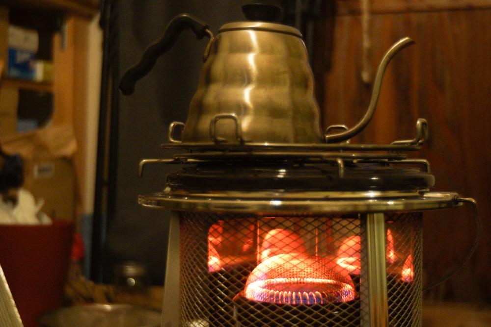 フジカハイペットでお湯を沸かす