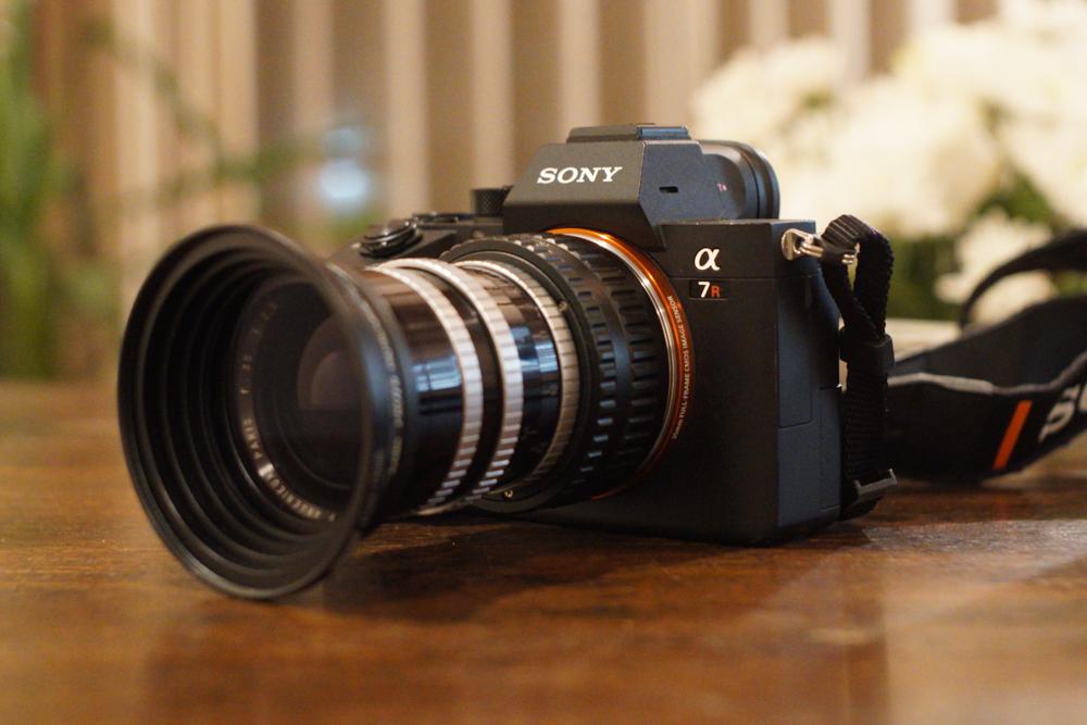 フルサイズに移行しました!Sony α7 R III+Angenieux 35mm f2.5で神宮外苑のいちょう並木とオリンピックスタジアム 新国立競技場を試し撮り