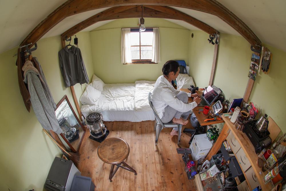 雨のち雨 小屋で仕事の一日 リモートワークを快適にする環境を考える