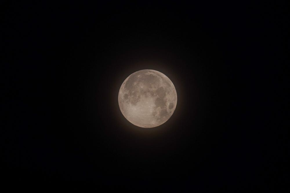 6月の満月 ストロベリームーン 2020