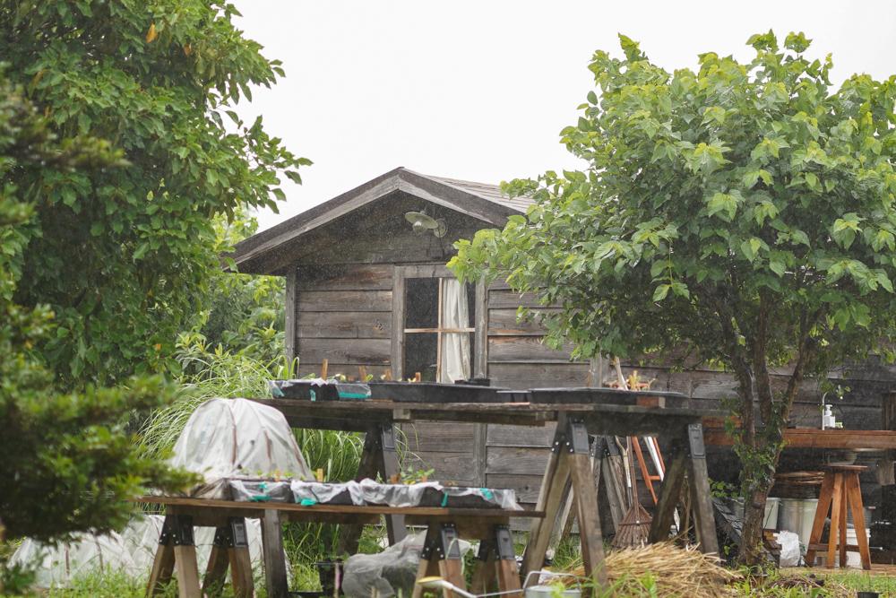 雨の日 小屋での過ごし方
