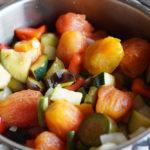 房総フィールド産 トマト+ナス+ズッキーニでラタトゥイユを作る