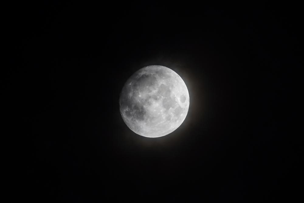 2020年十三夜の月