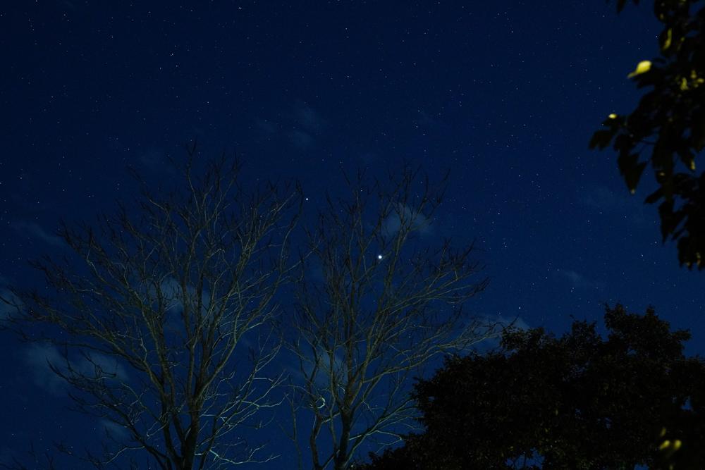 まもなくグレートコンジャンクションを迎える木星と金星