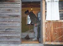 小屋の大掃除 2020年最後の房総フィールド