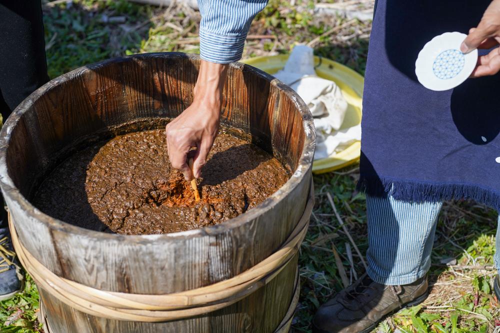 房総オルタナティブソイソース 手作りお醤油を作る お醤油絞りをして生醤油を抽出+お醤油の火入れをする