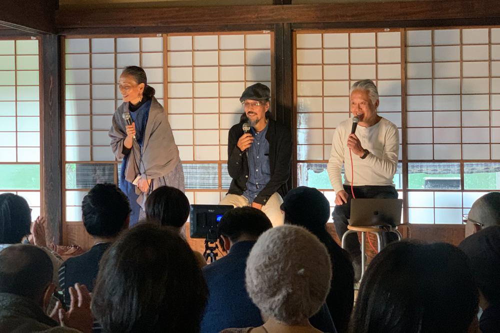 大西つねきさん 岡本よりたかさん 中島デコさんトークイベント「経済×自給自足ってどうなんでしょー?」@ブラウンズフィールド