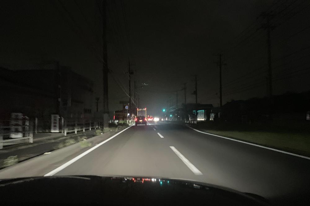 房総 台風15号の爪痕 街灯停電