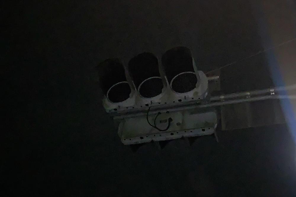 房総 台風15号の爪痕 信号停電