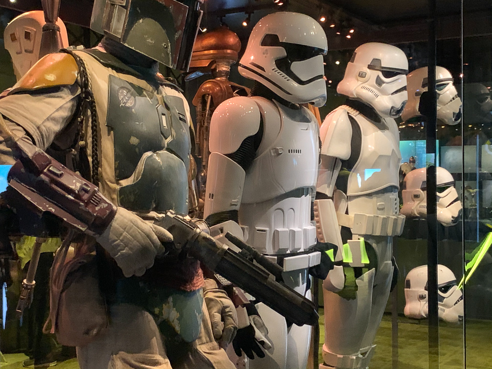STAR WARS IDENTITIES THE EXHIBITION 天王洲 寺田倉庫 ストームトルーパー