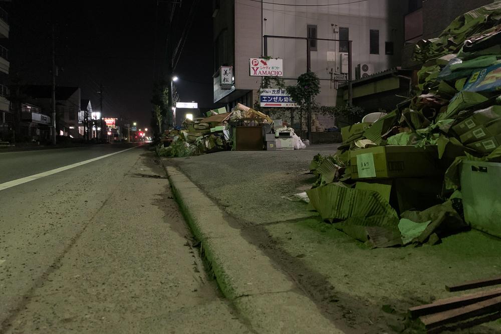 2019年台風21号茂原の被害