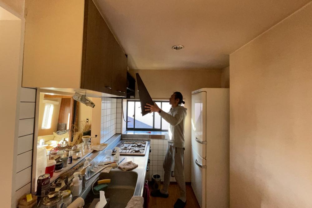 東京自宅 リビングのペンキ塗り 自分でリフォームするエネルギーはどこからやってくるのか?